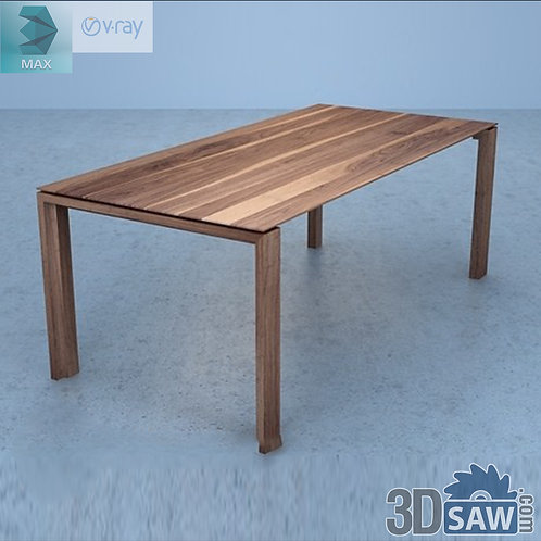 3ds Max Table Model - 3d Model Free Download - MX-969