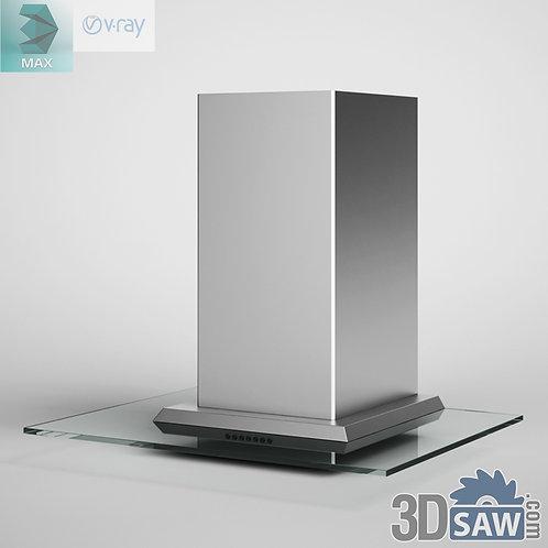 3ds Max Range Hood - Kitchen Items - 3d Model Free Download