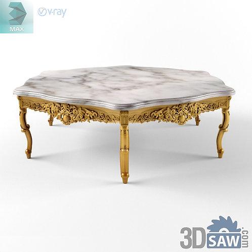 Round Table - Baroque Decor - Vintage Furniture - MX-497