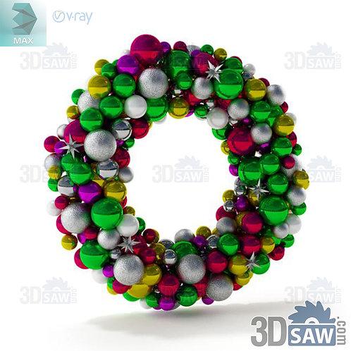 Christmas Decor - Wreath - MX-0000255