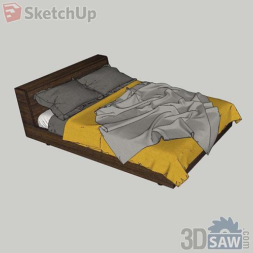 Bed - Bedroom Item Decor - SU-0000020