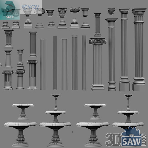 Classic Columns Pack - MX-0000138
