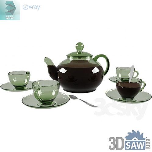 The Teapot - Glass Cup - Tea Set - MX-797