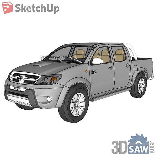 Car Vehicle Models - Toyota Hilux - SU-0000123