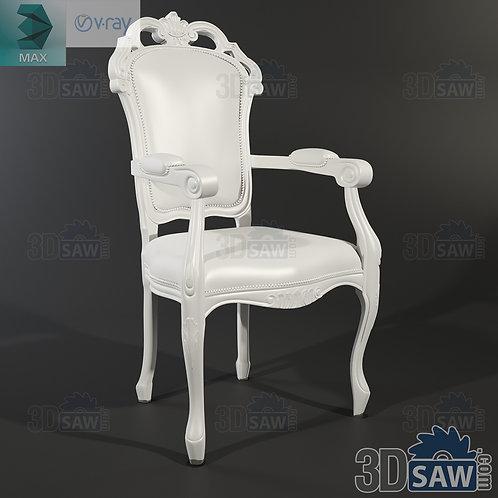 Armchair Capotavola - Baroque Decor - Vintage Furniture - MX-0000383