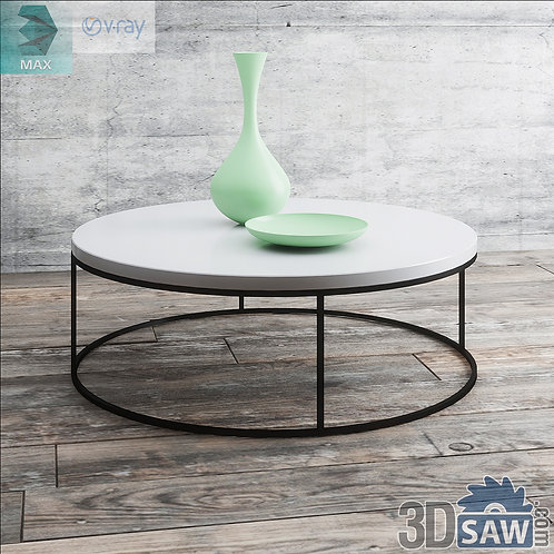 3ds Max Table Model - 3d Model Free Download - MX-1215