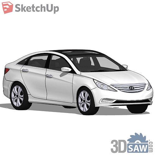 Car Vehicle Models - Hyundai Sonata - SU-0000135