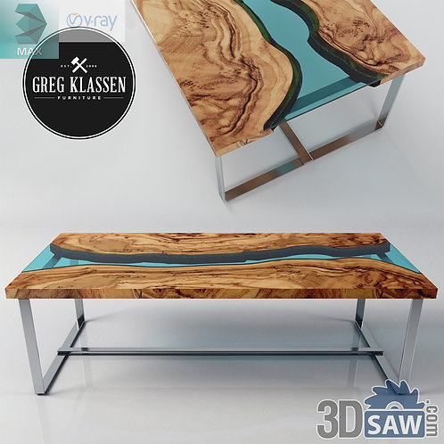 Table Model - Table Solid Wood - MX-607