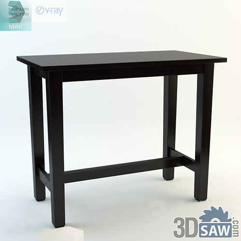 3ds Max Table Model - 3d Model Free Download - MX-1147