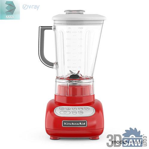 3ds Max Kitchen Blender - Kitchen Items - 3d Model Free Download