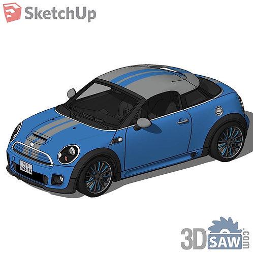 Car Vehicle Models - Mini Cooper Concept - SU-0000134