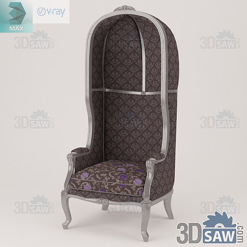 Sofa - Baroque Decor - Vintage Furniture - MX-445
