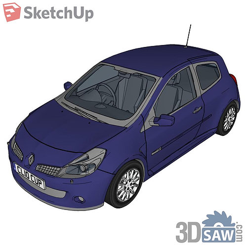 Car Vehicle Models - Clio - SU-0000151