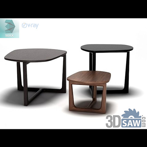 3ds Max Table Model - 3d Model Free Download - MX-1183