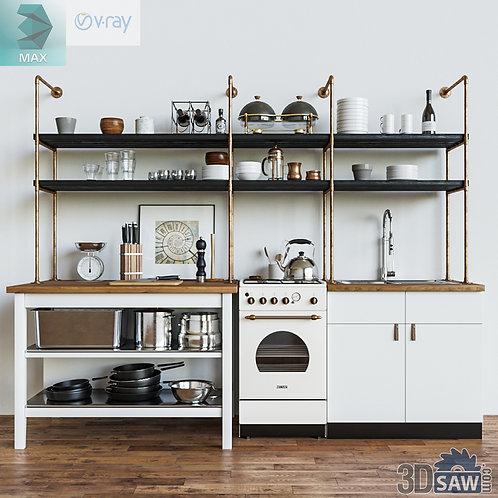 Kitchen Cabinets Casework - Kitchen Room Design - MX-657