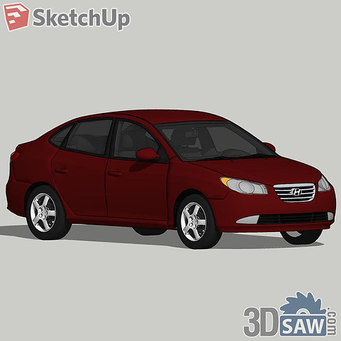 Car Vehicle Models - Hyundai Elantra - SU-0000128