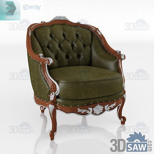 Armchair - Baroque Decor - Vintage Furniture - MX-0000379