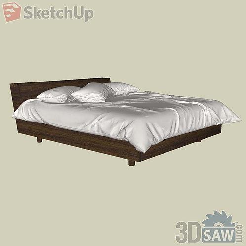 Bed - Bedroom Item Decor - SU-0000014