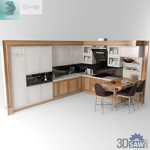Kitchen Cabinets Casework - Kitchen Room Design - MX-629