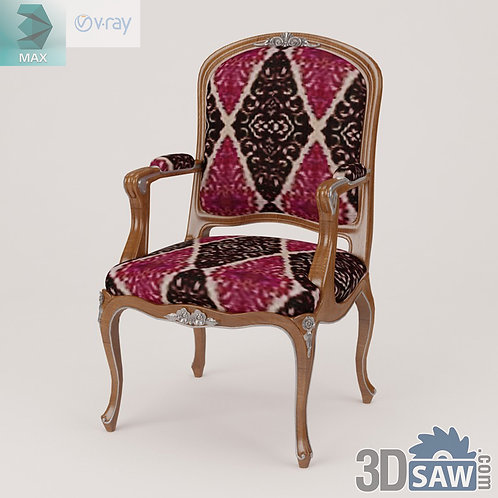 Armchair - Baroque Decor - Vintage Furniture - MX-487