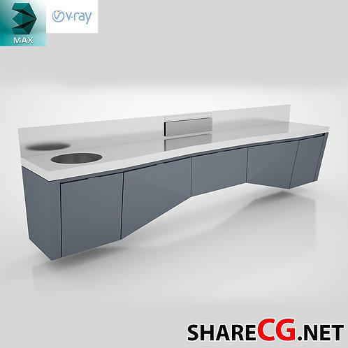 Kitchen Cabinets Casework - MX-0000022