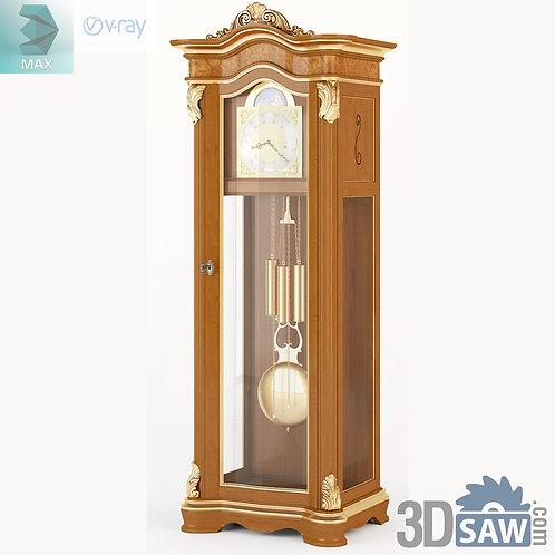 Grandfather Clock - Baroque Decor - Vintage Furniture - MX-534