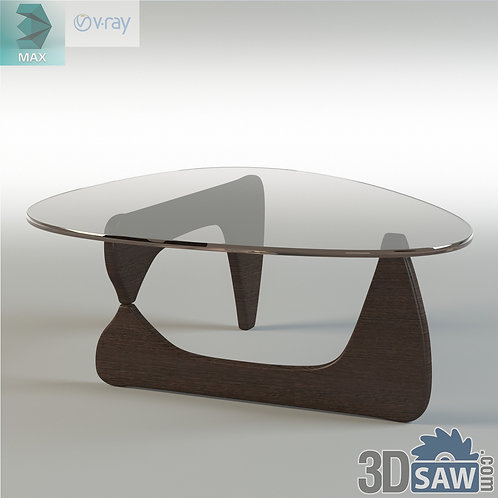 3ds Max Table Model - 3d Model Free Download - MX-1208