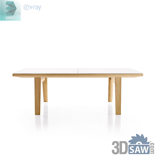 3ds Max Table Model - 3d Model Free Download - MX-951
