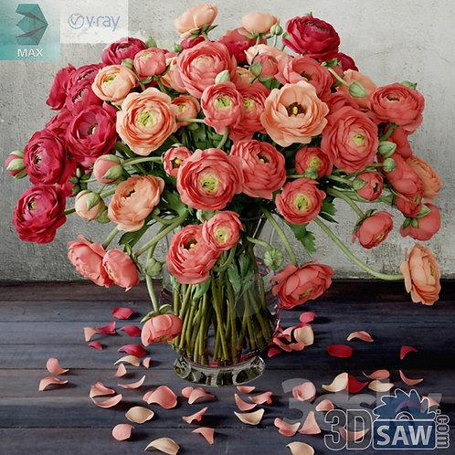 Flower Vase - Interior Plants - Ranunculus - MX-570