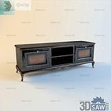 3ds Max TV Stand Shelf Cabinet - Free 3d Models Download - 3DSAW.COM