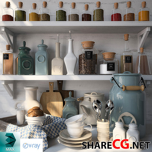 Kitchen Set Decor - MX-0000015