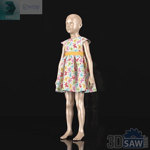 Girl Kid Children Fashion Mannequin - MX-0000080