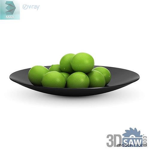 3ds Max Lemon - Kitchen Items - 3d Model Free Download