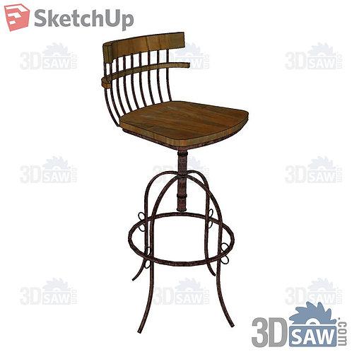 Chairs - Bar Stool - SU-0000242