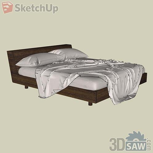 Bed - Bedroom Item Decor - SU-0000013