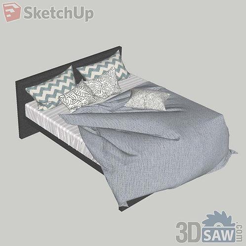 Bed - Bedroom Item Decor - SU-0000016