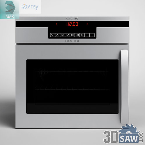 3ds Max Oven - Kitchen Items - 3d Model Free Download