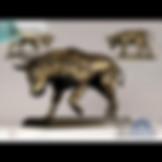 3ds Max Buffalo Bull Statue Sculpture - Animals - Free 3d Models Download - 3DSAW.COM