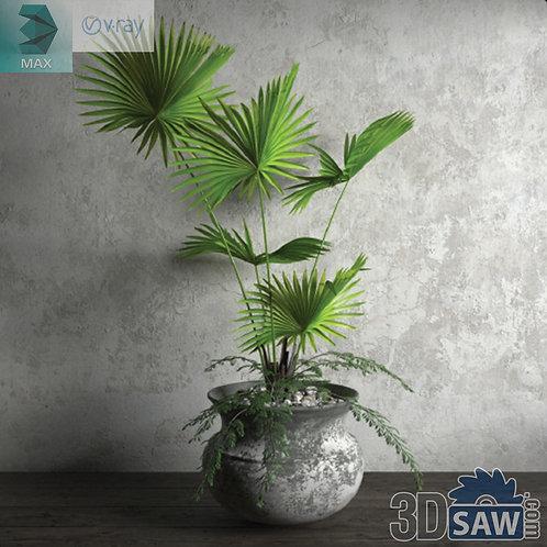 Flower Vase - Interior Plants - Planter - Plant - MX-683