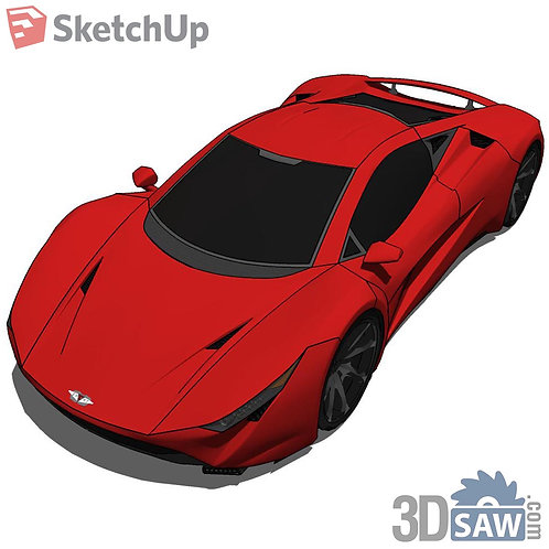 Car Vehicle Models - Specter Concept Smoothed - SU-0000179