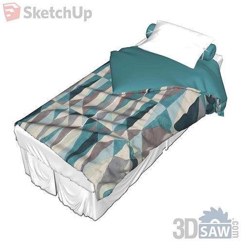 Bed - Bed-Single Bed - SU-0000043