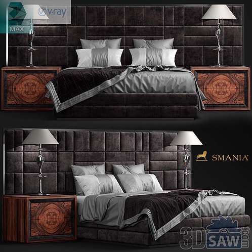 Bed Model - Bedroom Item Decor - MX-0000102