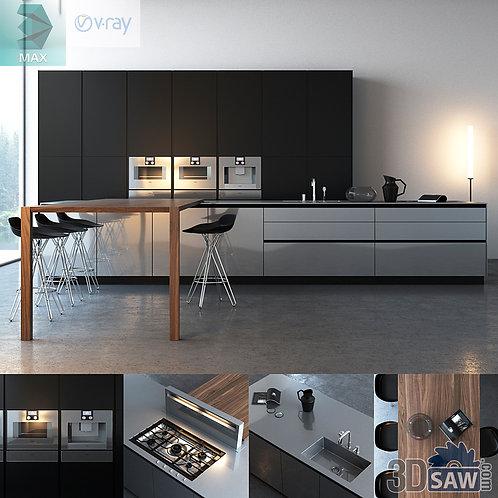 Kitchen Cabinets Casework - Kitchen Room Design - MX-635
