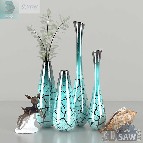 Flower Vase - Interior Plants - MX-0000093