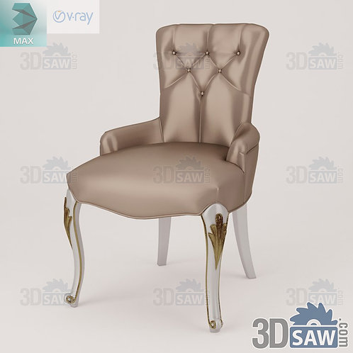 Chair - Baroque Decor - Vintage Furniture - MX-483