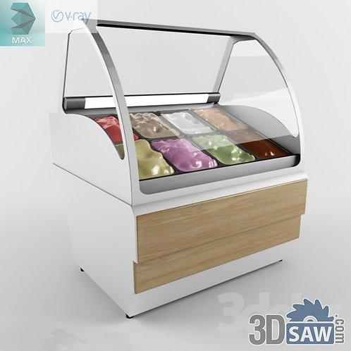 Ice Cream Fridge - Ice Cream Display Freezer - MX-851