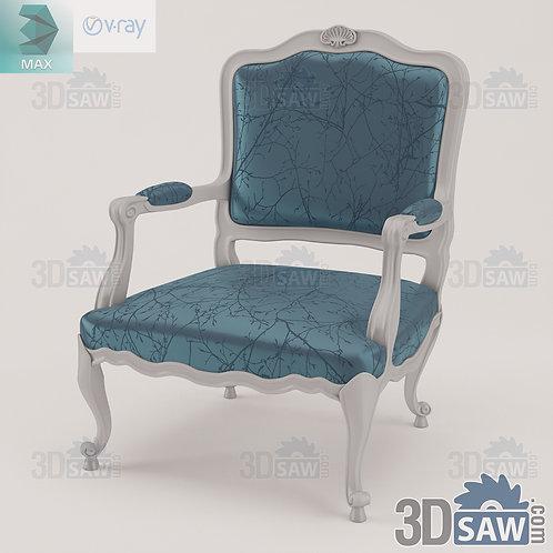 Armchair - Baroque Decor - Vintage Furniture - MX-0000386