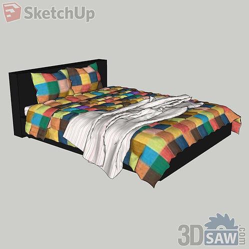 Bed - Bedroom Item Decor - SU-0000028