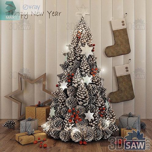 Christmas Tree - Christmas Decor - MX-0000225