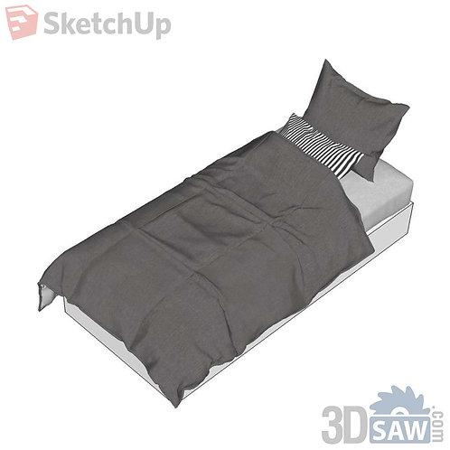 Bed - Single Bed - SU-0000036